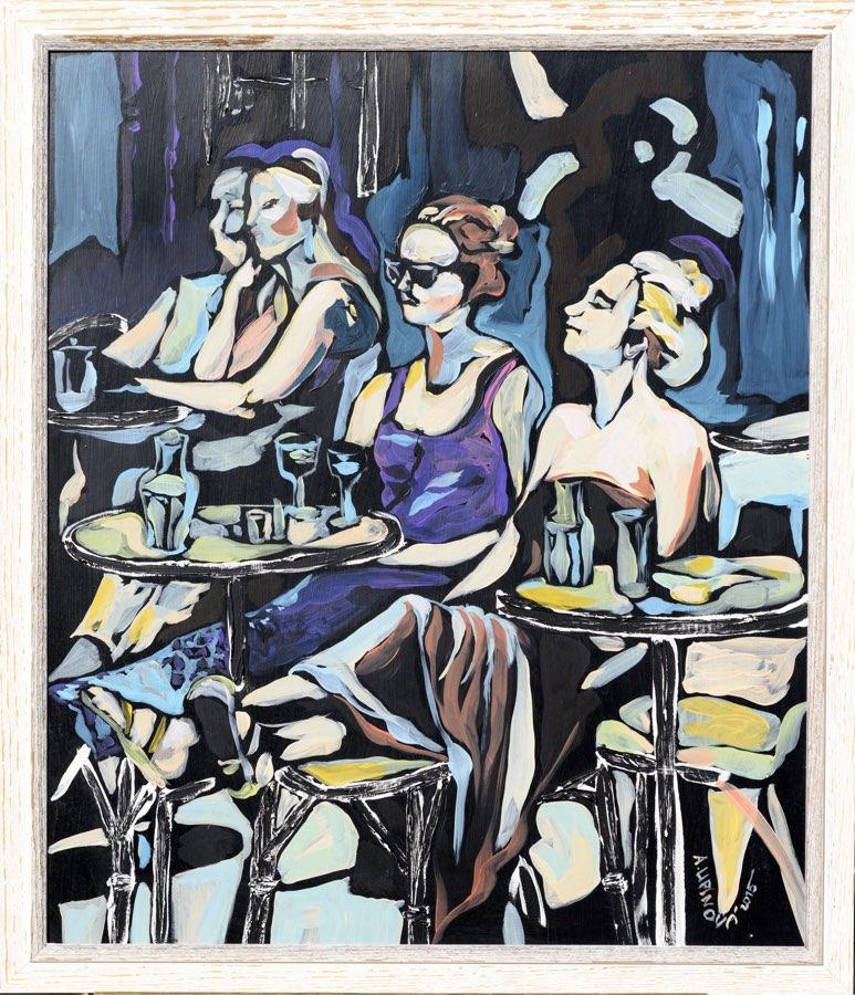 ALENA LIPINOVÁ Cafe Procope 60x70