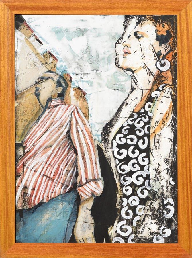 ALENA LIPINOVÁ Le Bonaparte 60x85