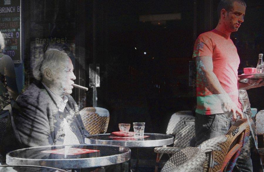 JAN LIPINA L'homme avec cigare
