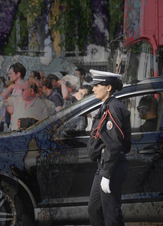 JAN LIPINA femme policier