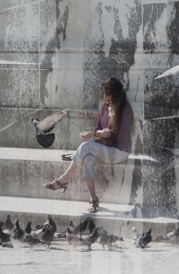 JAN LIPINA la femme et les pigeons- žena a holubi
