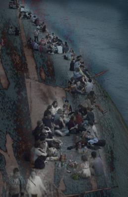 JAN LIPINA na břehu seiny 1