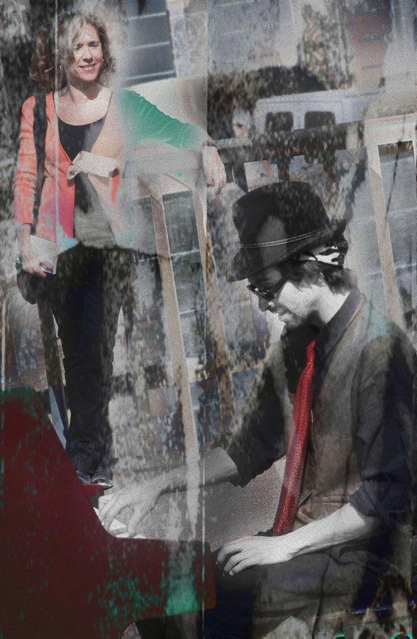JAN LIPINA na pont SAINT - LOUIS 4 CONTROL ZEBRE