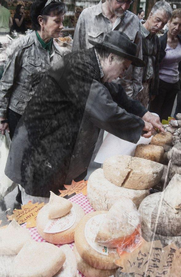 JAN LIPINA vendeur de fromage prodavač sýru