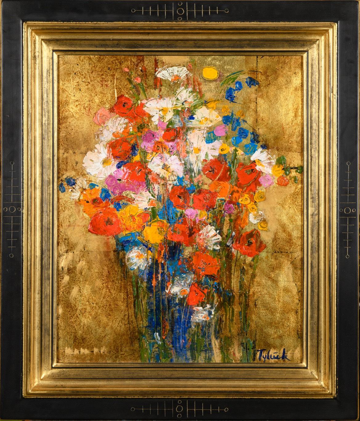 TYLEČEK Barevné květy 50 x 40