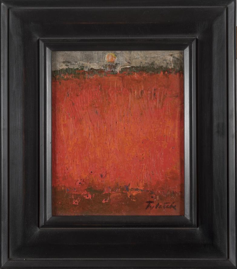 TYLECEK - CHAMP ROUGE - Červené pole 27x22 CM