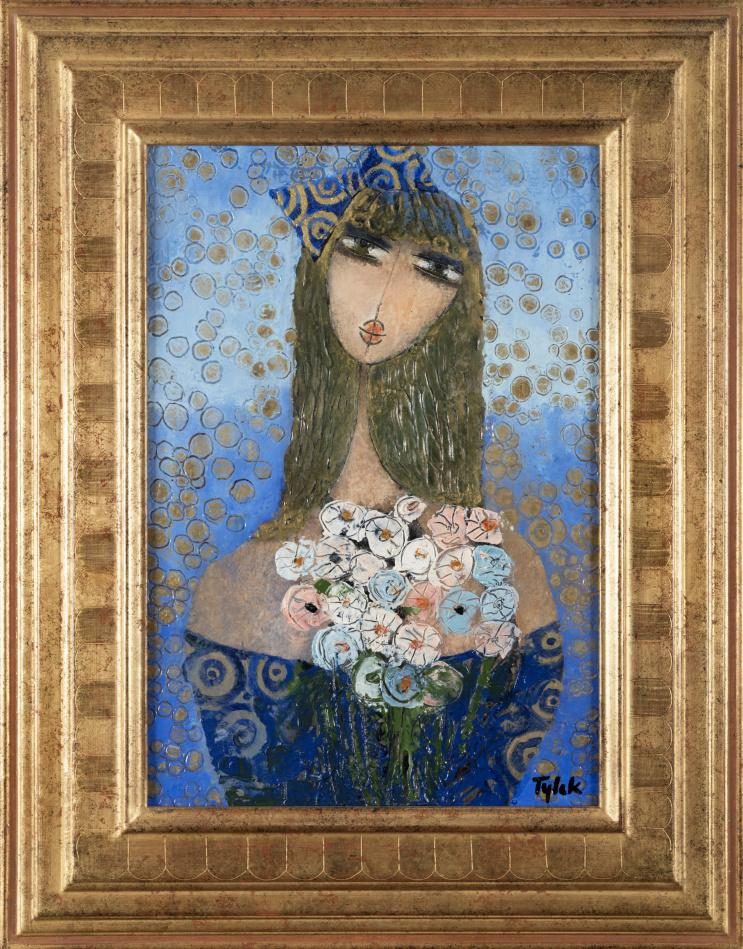TYLEK - PLUIE FLORALE - Květinový déšť 55x38 cm