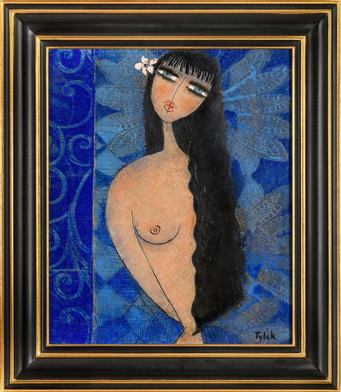 TYLEK V modrém čase 60 x 50