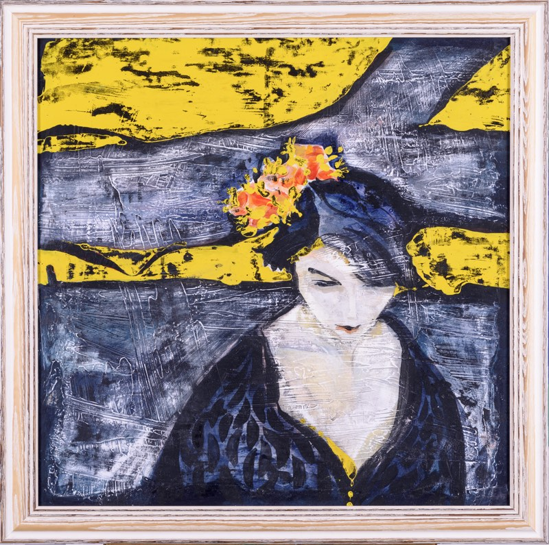 ALENA LIPINOVÁ Jarní čekání 70 x 69 cm