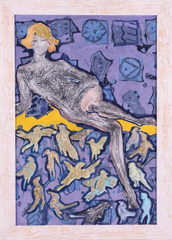 ALENA LIPINOVÁ Jarní probuzení 87 x 59 cm