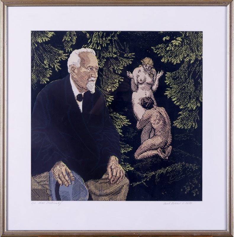 PAVEL PIEKAR Švabinský a milenci 47 x 47 cm