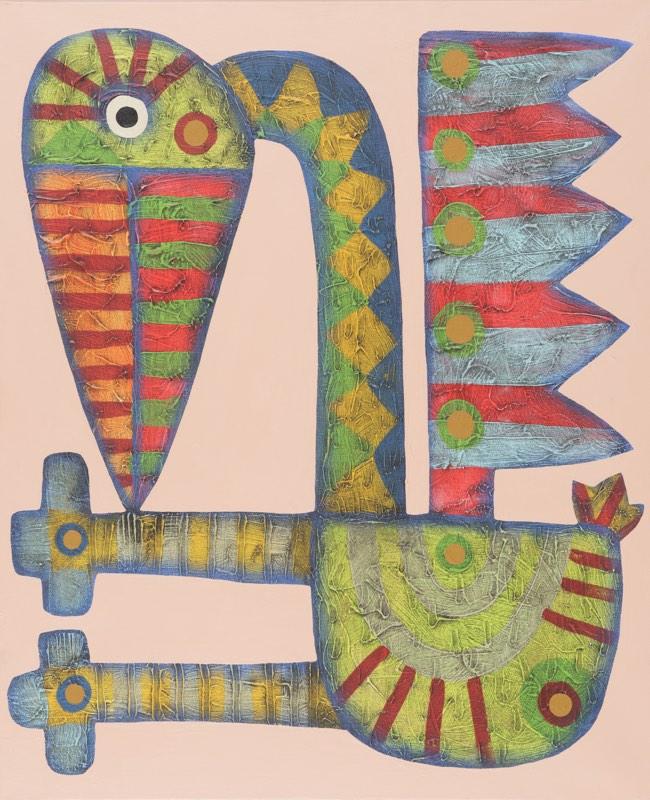 RUDOLF BRANČOVSKÝ Labuť si čichá k noze 50 x 60 cm