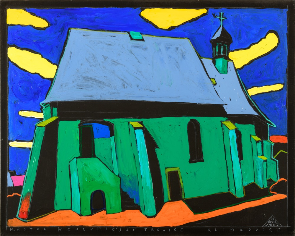 Boris Jirků Kostel Nejsvětější Trojice Klimkovice 80x100 (2)