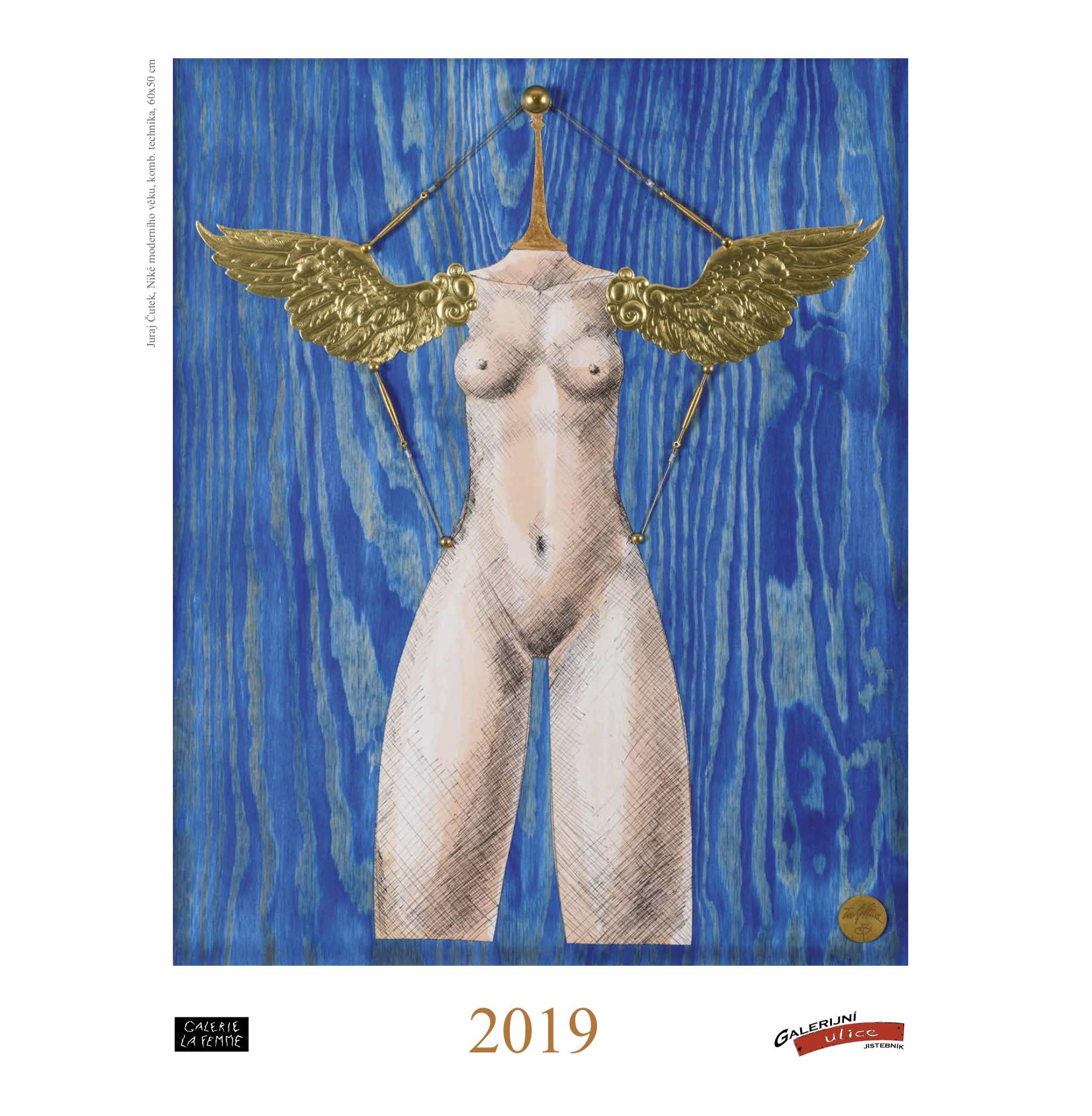 Kalendář Galerijní ulice a Galerie La Femme 2019 - IV. sympozium výtvarníků