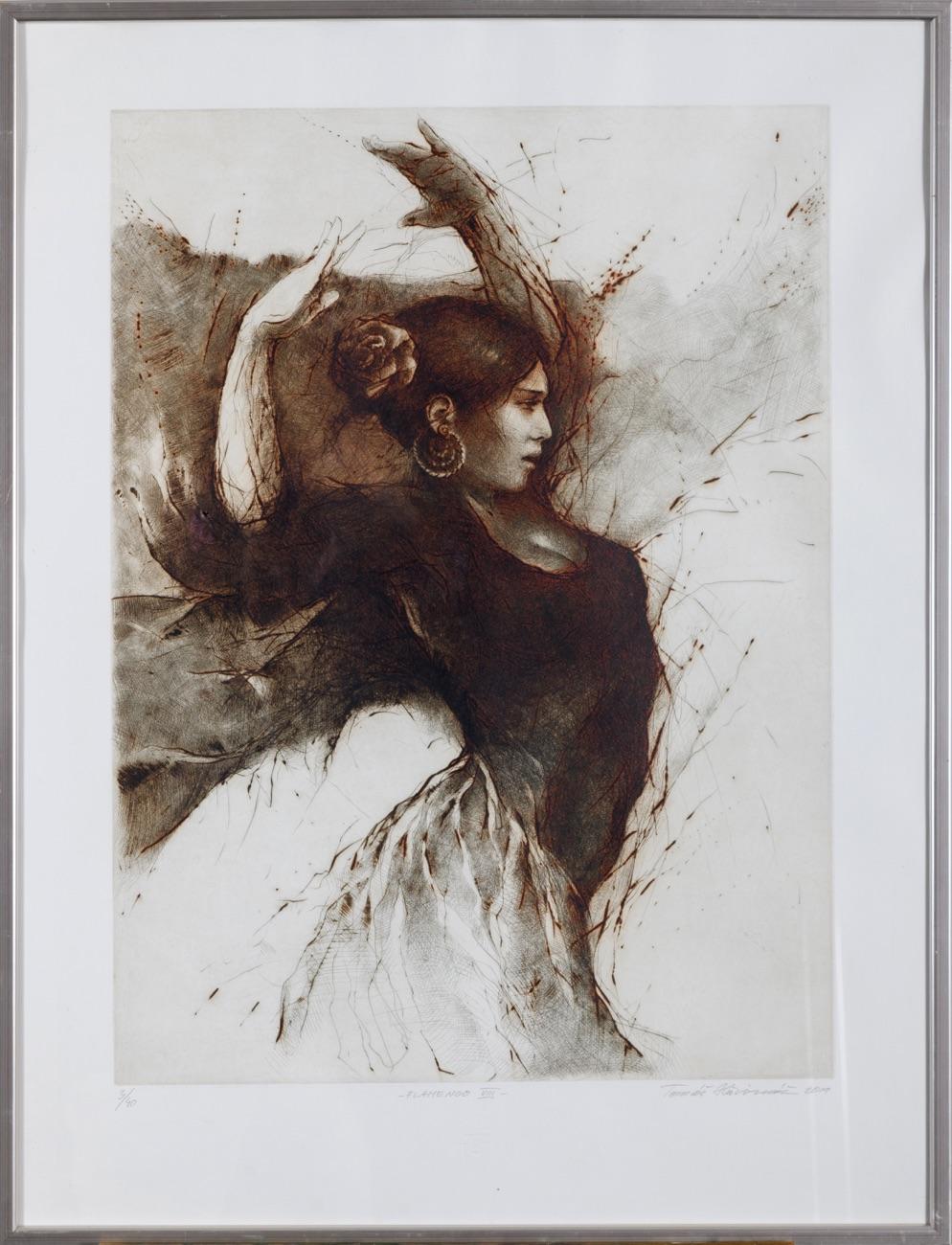 TOMÁŠ HŘIVNÁČ Flamenco VIII 67x49 cm
