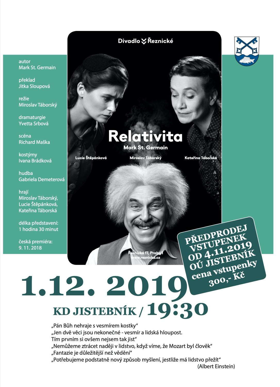 Divadelní představení Relativita