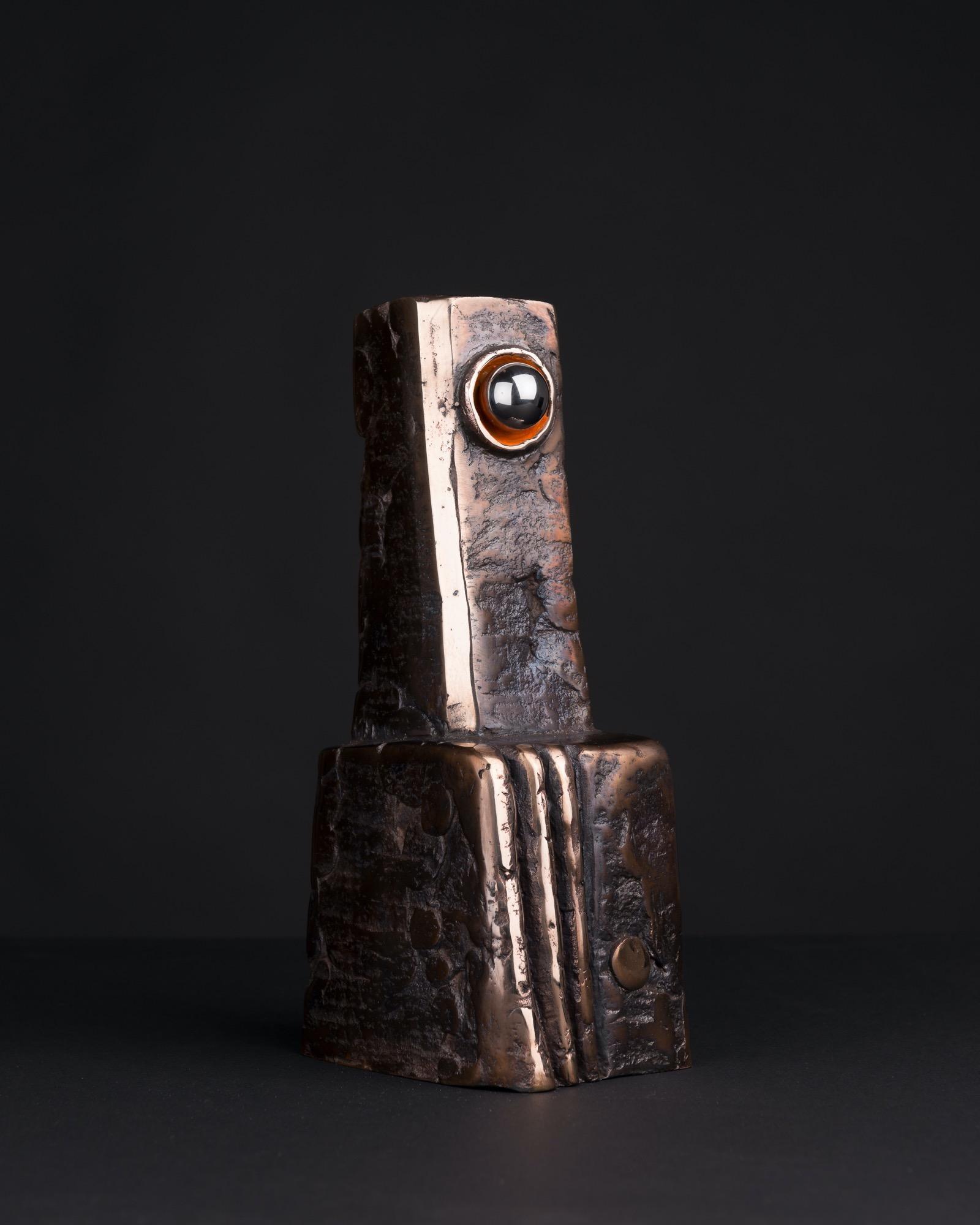JAKUB BACHORÍK Kyklop - bronz a ocel, 25cm 2015