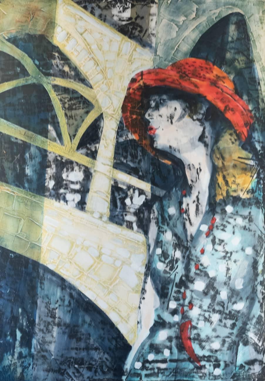 ALENA LIPINOVÁ Krásně klenutá 100x70