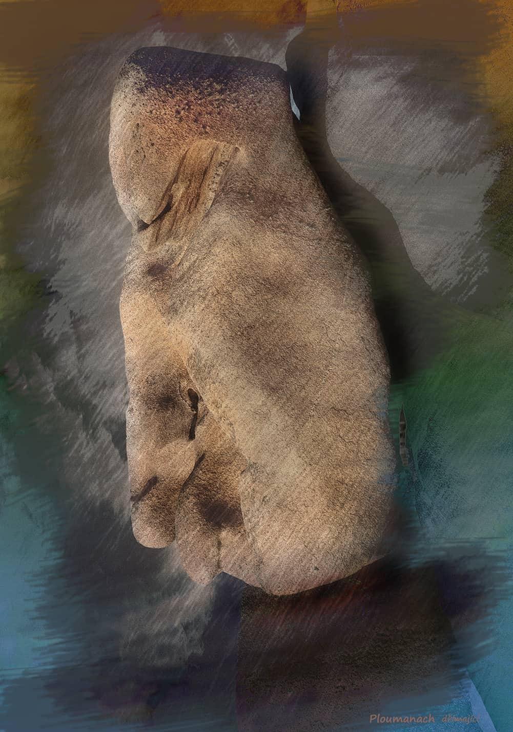 JAN LIPINA Plomanach dřímající 100x70