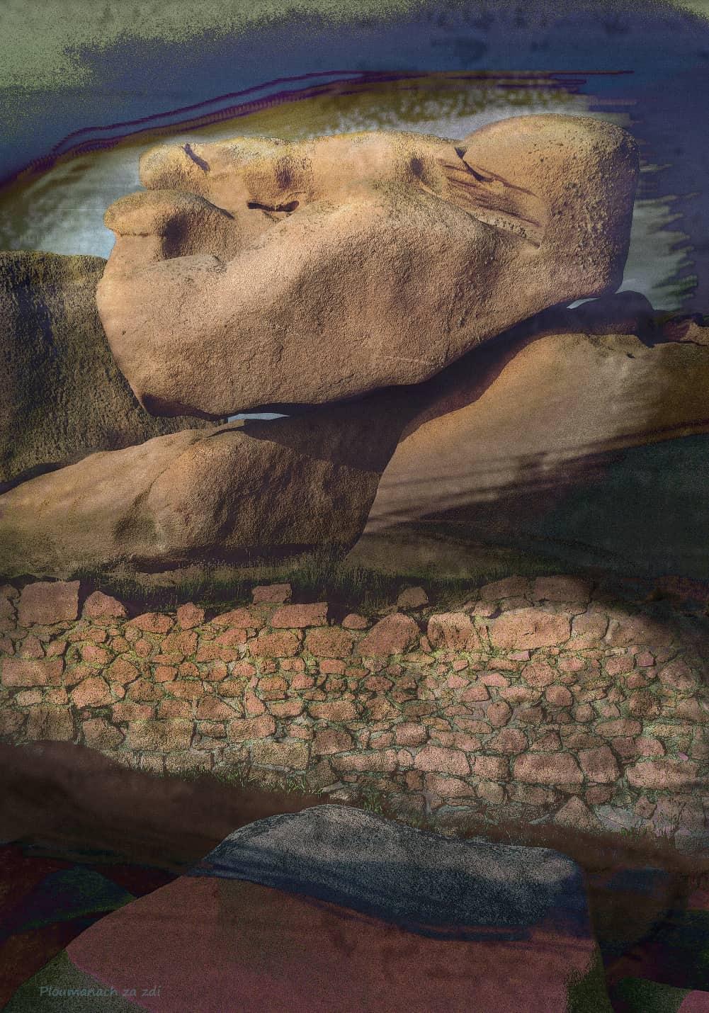 JAN LIPINA Ploumanach za zdi 100x70