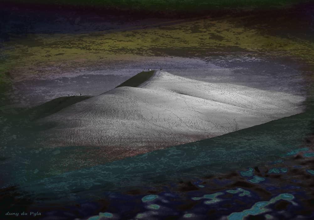 JAN LIPINA duna du Pyla 70x100