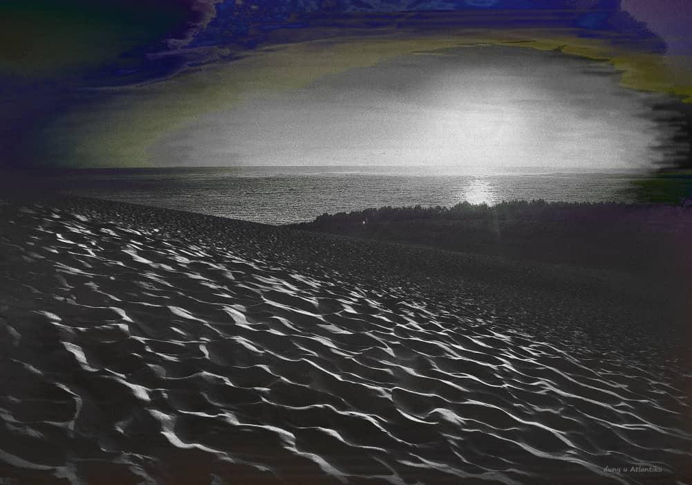 JAN LIPINA duny u Atlantiku70x100