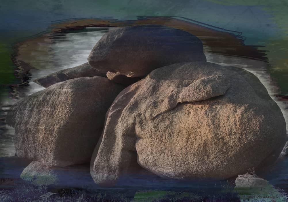 JAN LIPINA spící Ploumanach 70x100