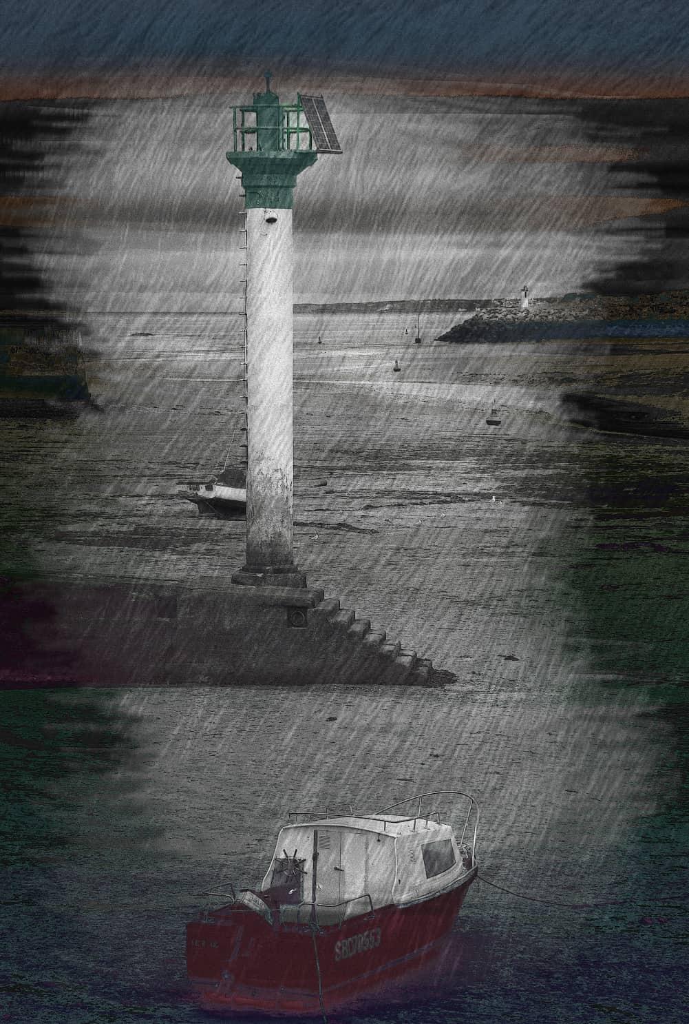 JAN LIPINA v Morlaix maják 48x32