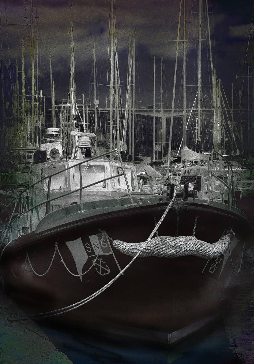JAN LIPINA v Morlaix u mariny 100x70